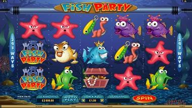 Fish Party Slot Screenshot