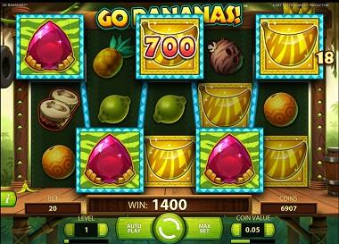 Go Bananas Big Win