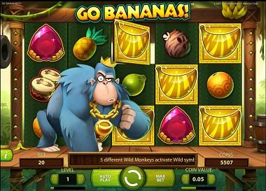 Go Bananas Slot Wilds
