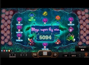 Magic Mushrooms Slot Big Win