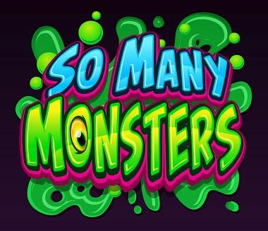 So Many Monsters Slot Logo