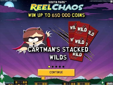South Park Reel Chaos NetEnt
