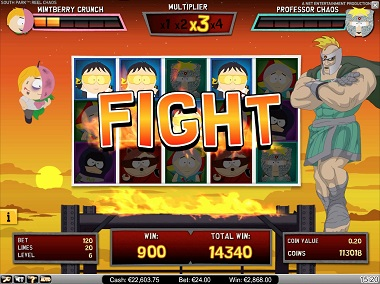 South Park Reel Chaos Slot Fight