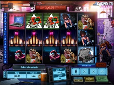The Casino Job Jackpot Slot Game