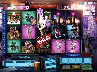 The Casino Job Jackpot Slot