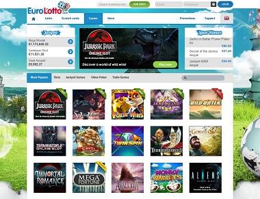EuroLotto: Casino + €25 Million Lotto Jackpot - NetEnt Stalker