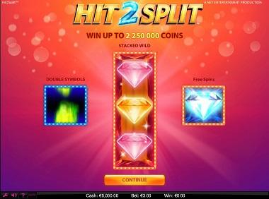 Hit2Split NetEnt Slot