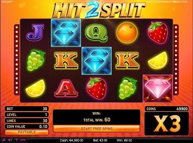 Hit2Split Slot Game