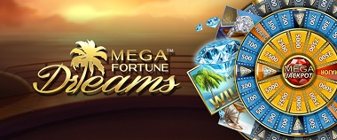 Mega Fortune Dreams Banner
