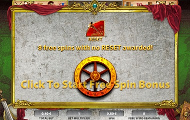 Roman Chariots Free Spins