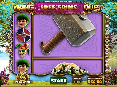 Viking Quest Free Spins