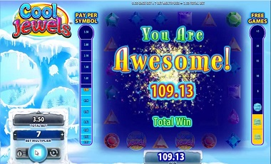 Cool Jewels Slot Big Win