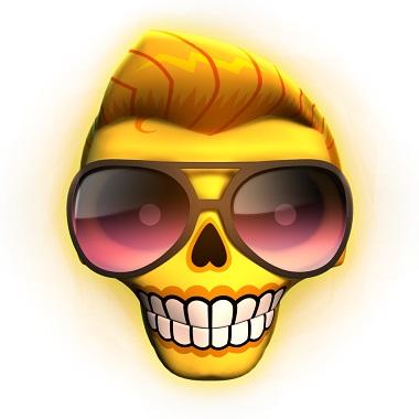 Esqueleto Explosivo Slot Wild