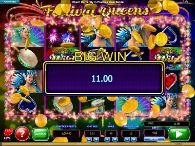 Festival Queens Slot Big Win