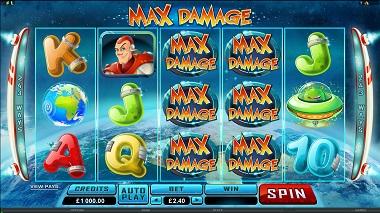 Max Damage Slot Base Game