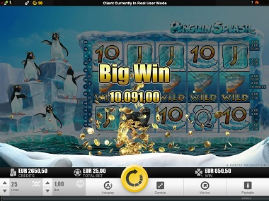 Penguin Splash Slot Big Win