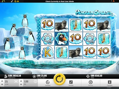 Penguin Splash Slot Rabcat