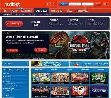 Redbet Casino Blue