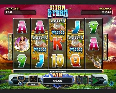 Titan Storm Slot Wild