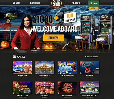 Casino Cruise Halloween