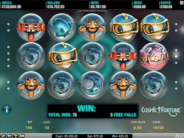 Cosmic Fortune Slot NetEnt