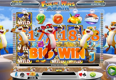 Foxin Wins Again Big Win