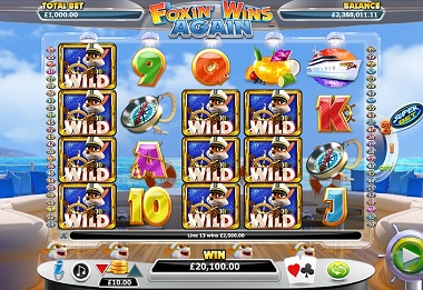 Foxin Wins Again Slot Wilds