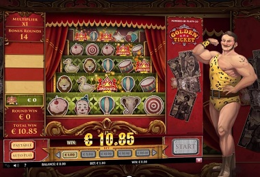 Golden Ticket Slot Bonus
