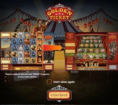 Golden Ticket Slot Playn GO