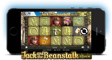 Jack Beanstalk Touch NetEnt