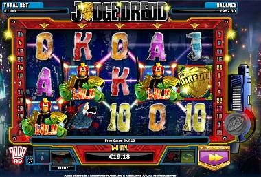 Judge Dredd Slot Screenshot