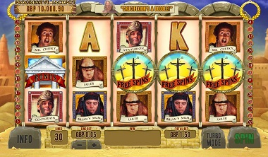 Life of Brian Free Spins