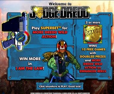NextGen Judge Dredd Slot