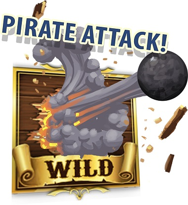 Pirate Attack Wild Symbol