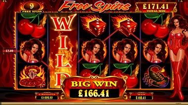 Red Hot Devil Slot Screenshot