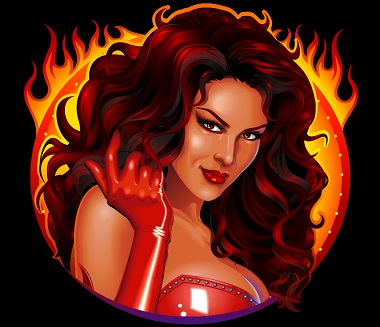 Red Hot Devil Symbol