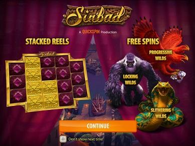 Sinbad Slot Quickspin