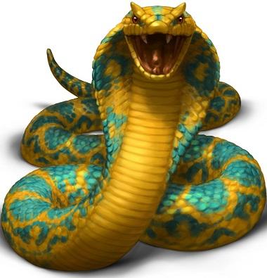 Sinbad Slot Snake Symbol
