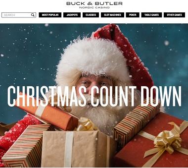 Buck Butler Christmas Calendar