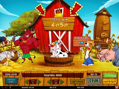 Crazy Cows Slot Bonus