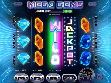 Mega Gems Slot Betsoft