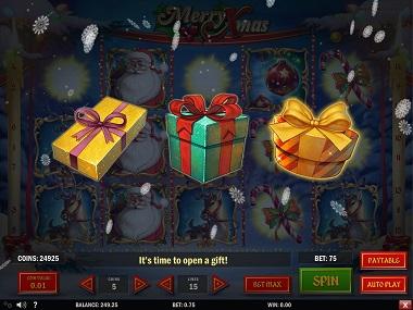 Merry Xmas Slot Gift Bonus