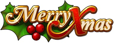 Merry Xmas Slot Logo