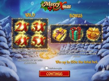 Merry Xmas Slot Opening