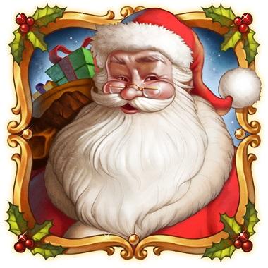 Merry Xmas Slot Santa Symbol