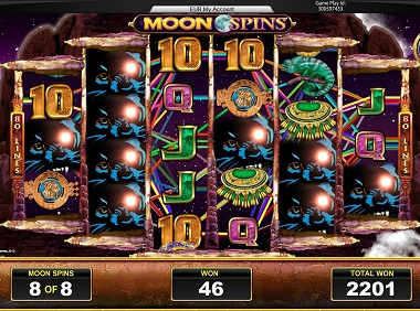 Moon Temple Slot Free Spins