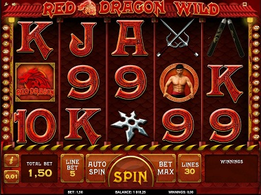 Red Dragon Wild Screenshot