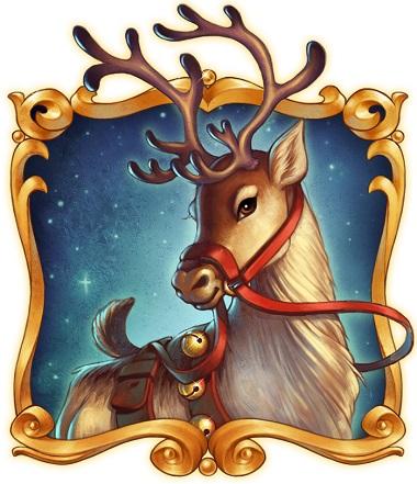 Reindeer Merry Xmas Playn GO