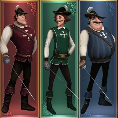 Three Musketeers Quickspin
