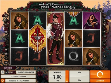Three Musketeers Slot Game